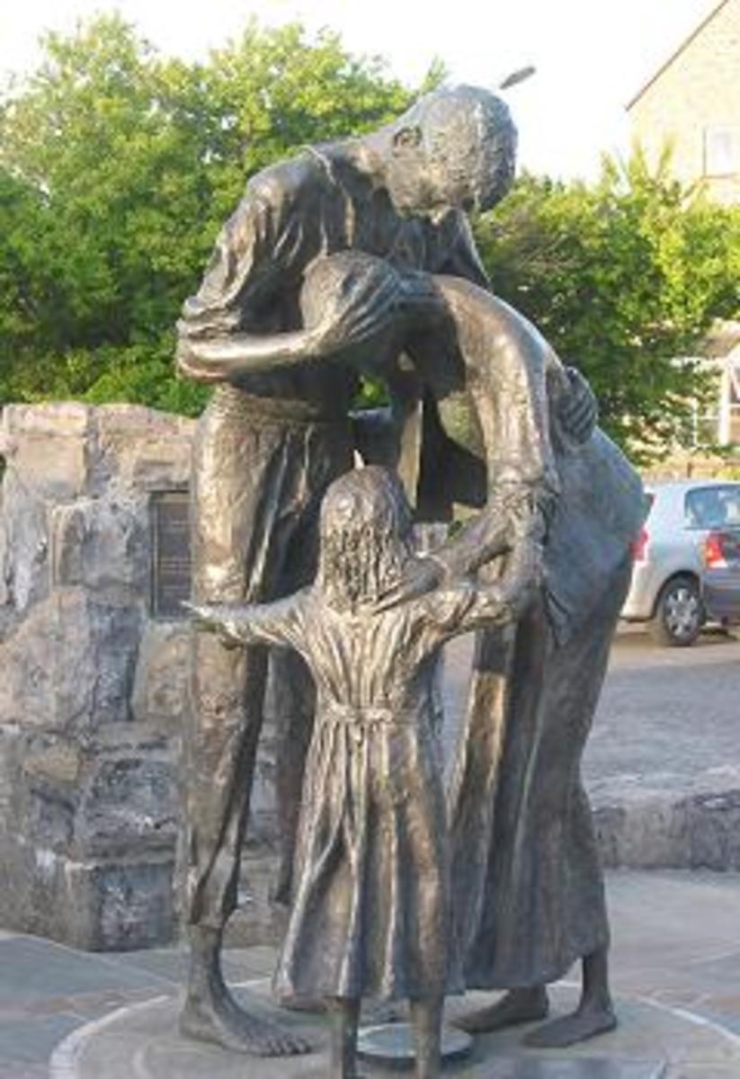Sligo's Memory Harbor.