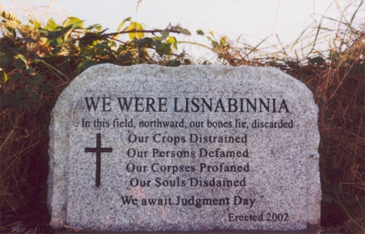 Lios Na Binne Grave Marker