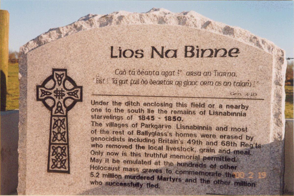 Lios Na Binne Memorial