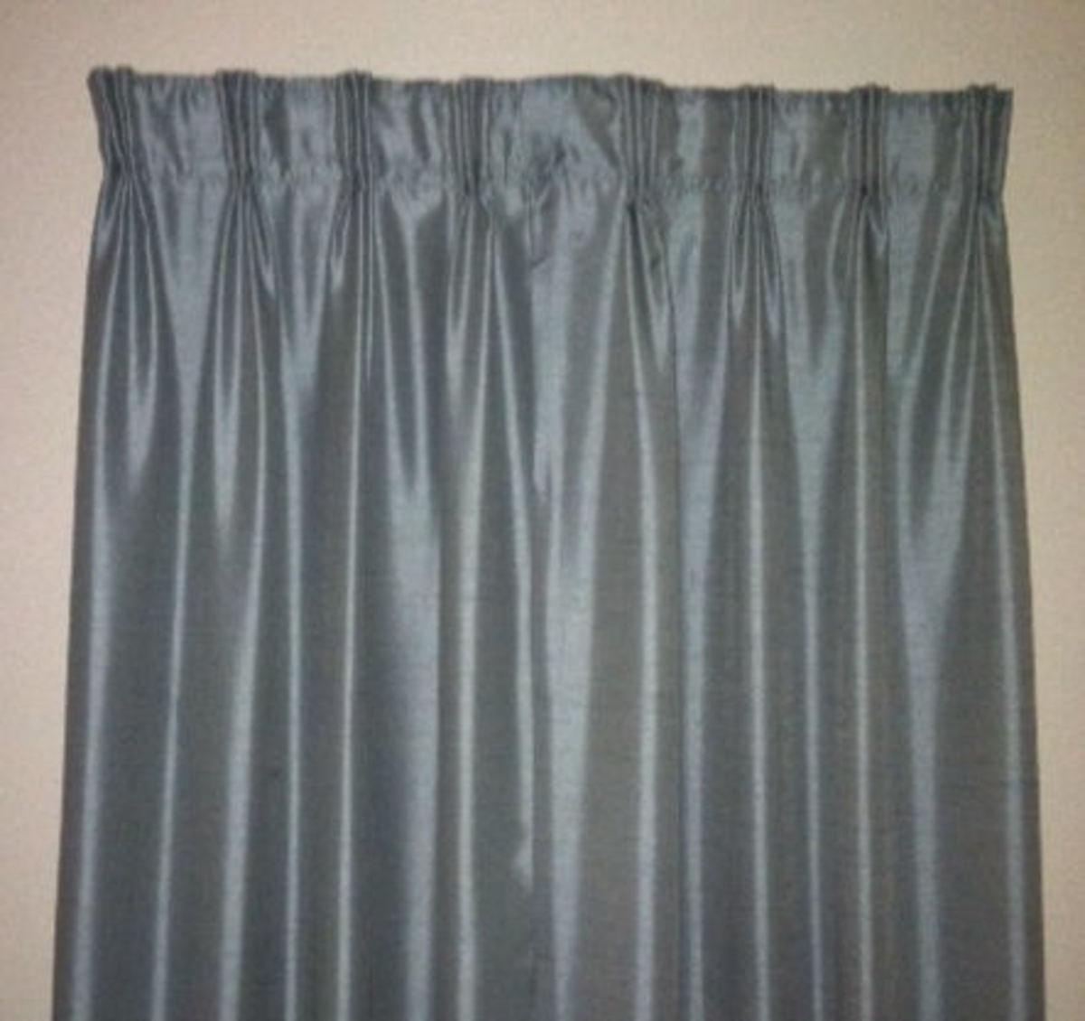 How to Make Pinch-Pleated Drapery From Rod Pocket Curtains
