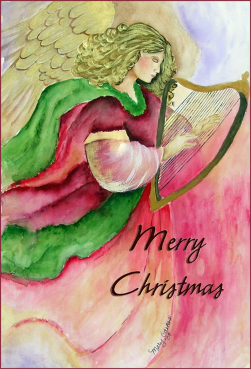 My watercolor Angel