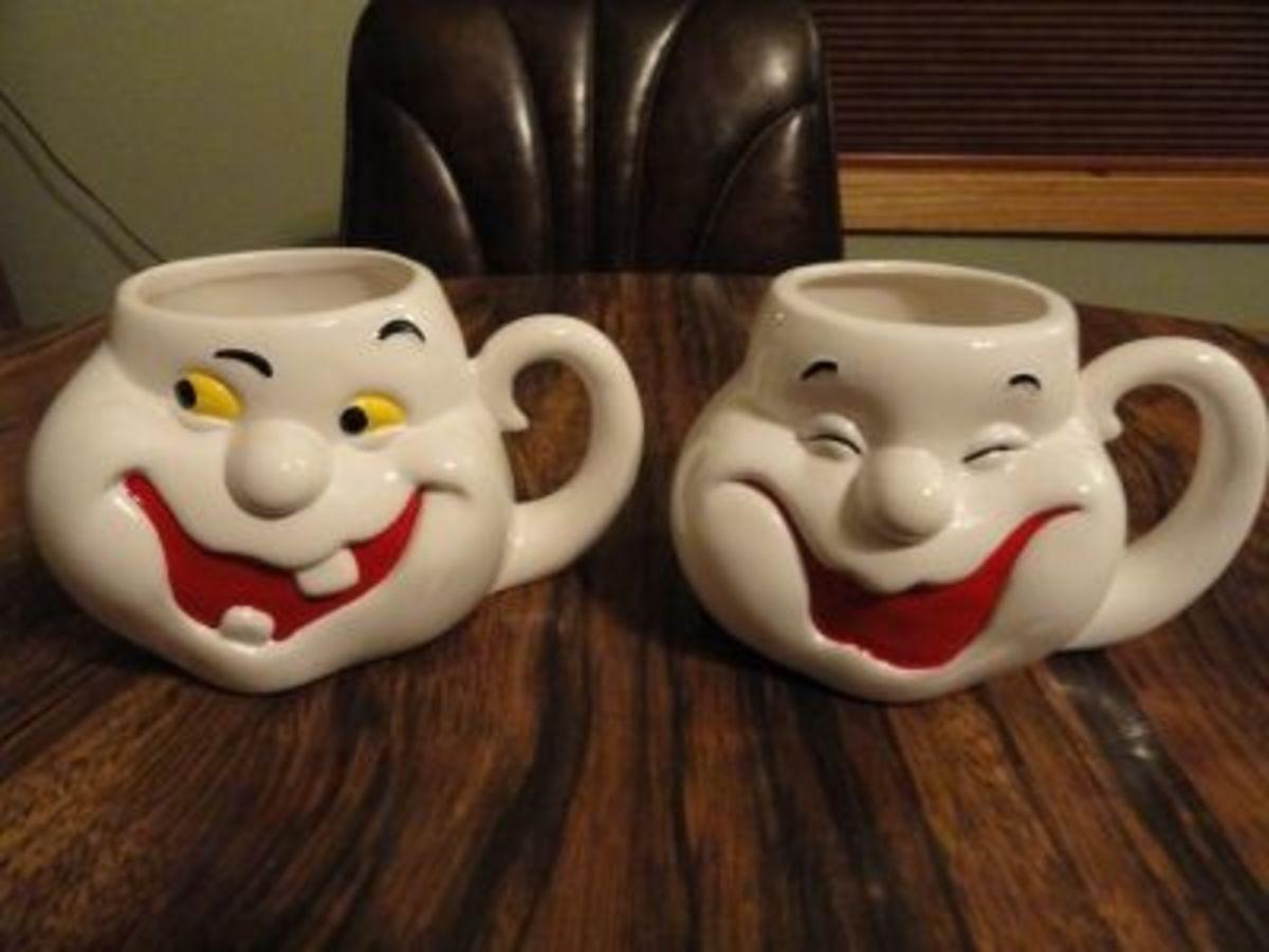 Cheryl's Ghost Smile Mugs