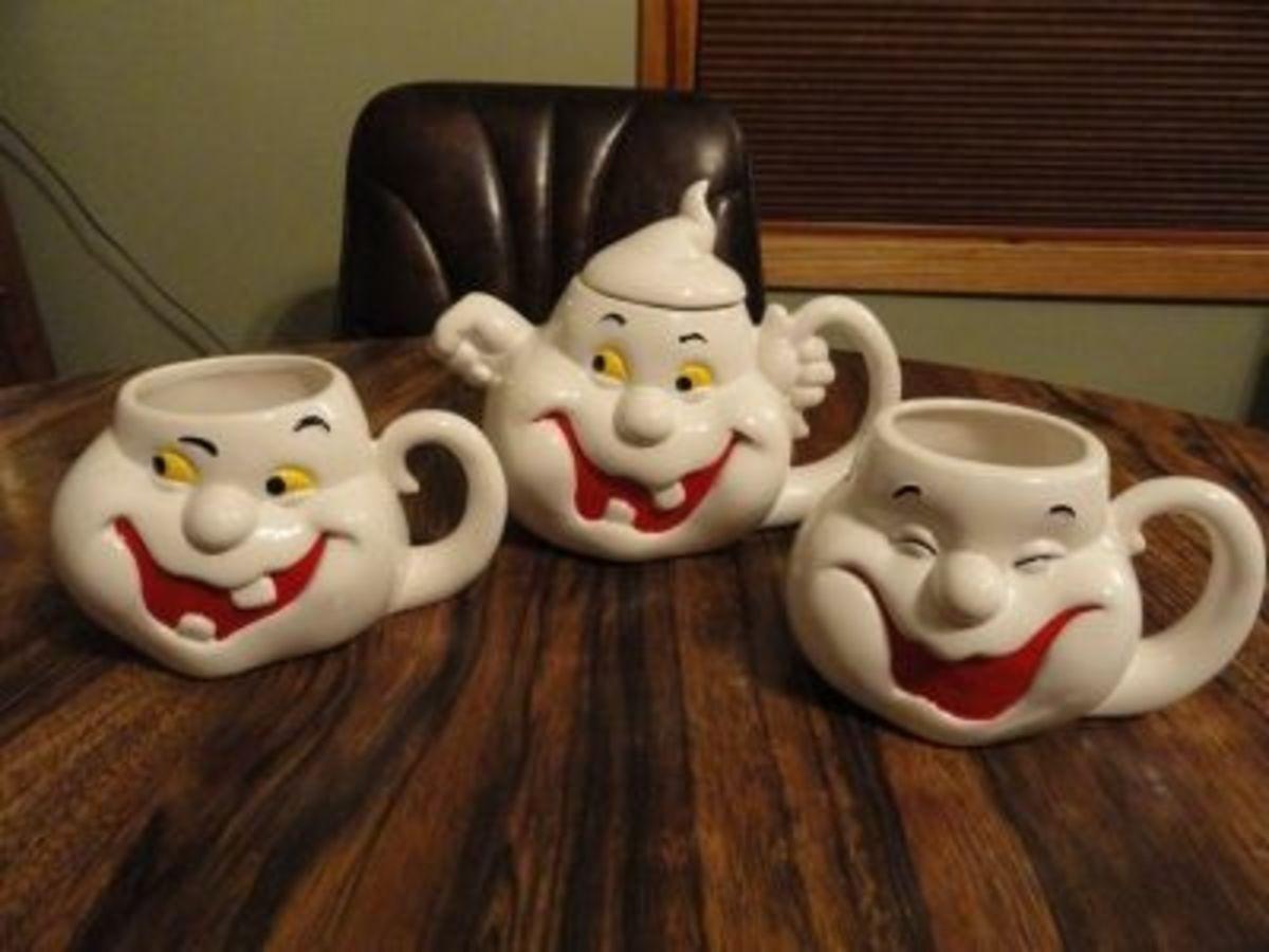 Cheryl's Ghost Teapot and Mug Set