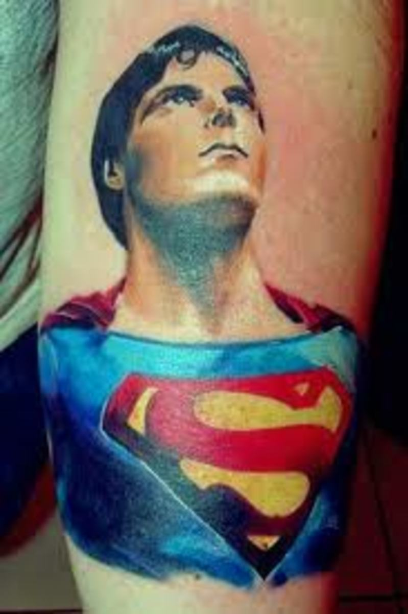 Superman Tattoos And Designs-Superman Tattoo Meanings And Ideas ...