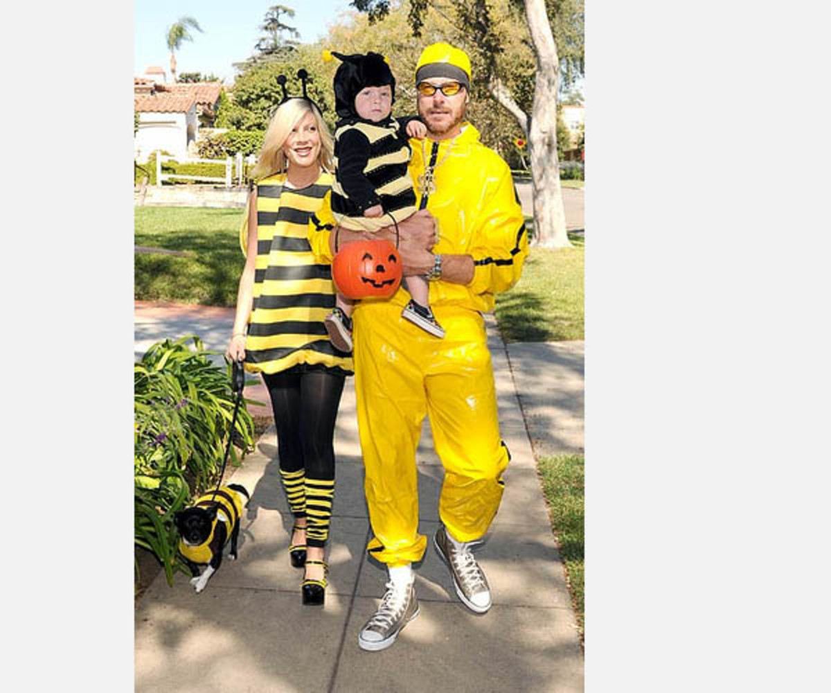 Bumble Bee Halloween Costumes for People and Pets