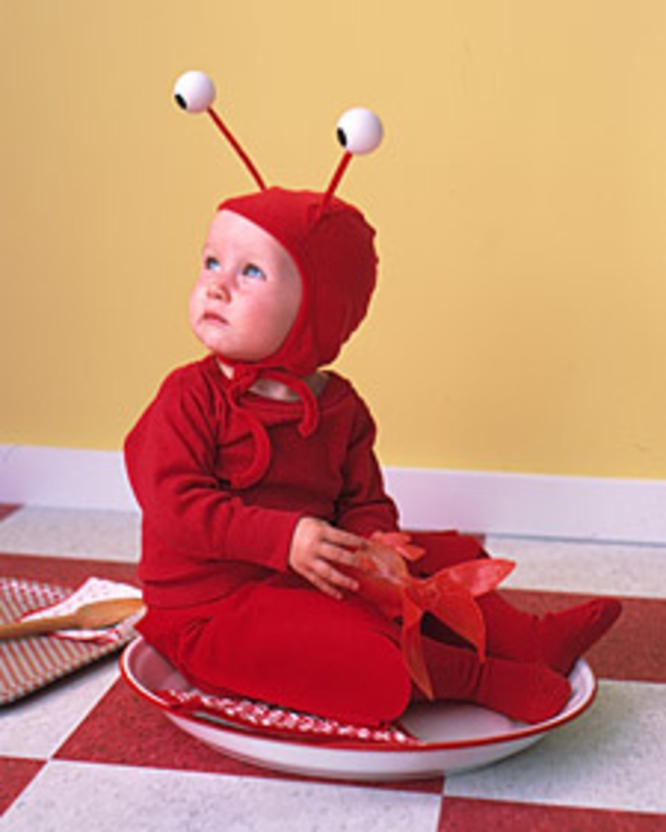 Lobster Costume Tutorial