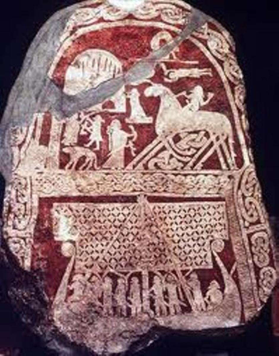 The Saga of HROLF 'KRAKI' - 5: Thorir 'Hounds-foot', King of the Gautar