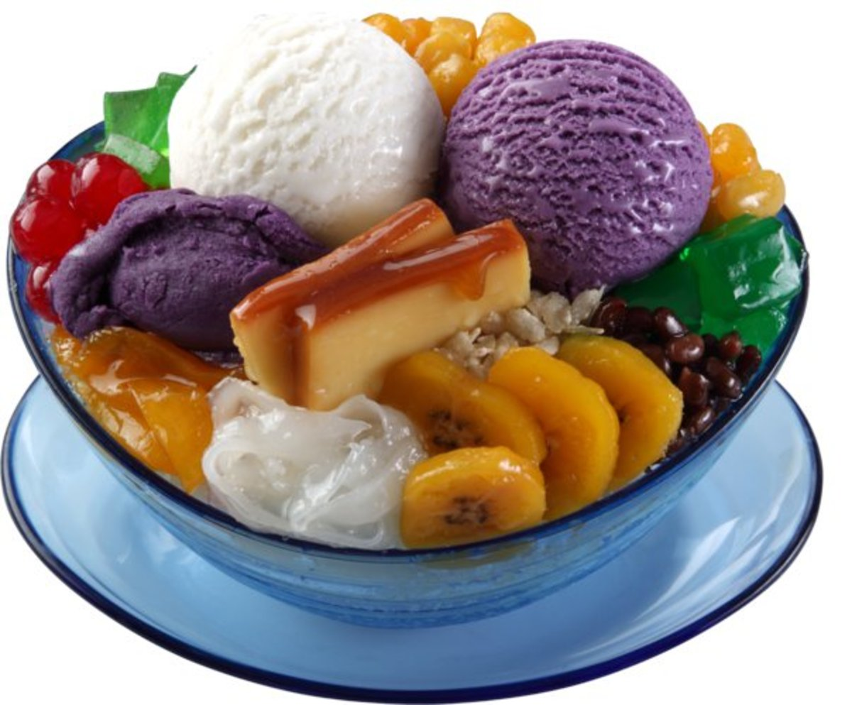 The Best Filipino Dessert - Halo Halo