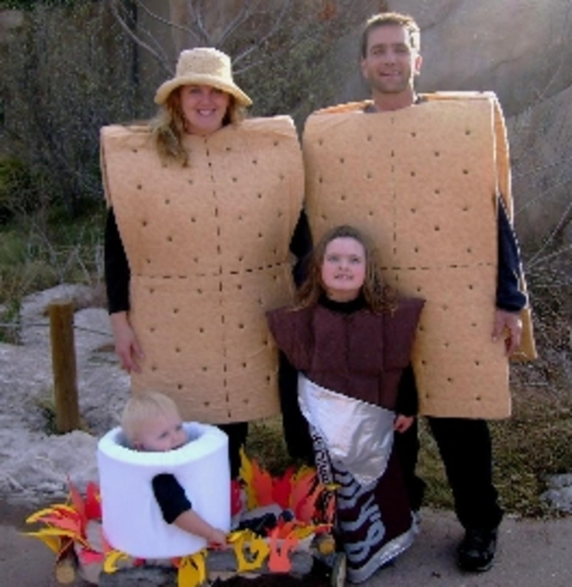 Smores Family Costumes
