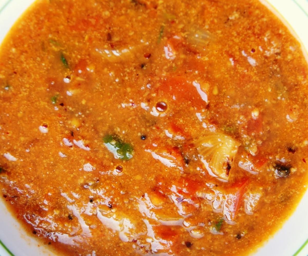 Tasty and spicy Tomato Kuruma