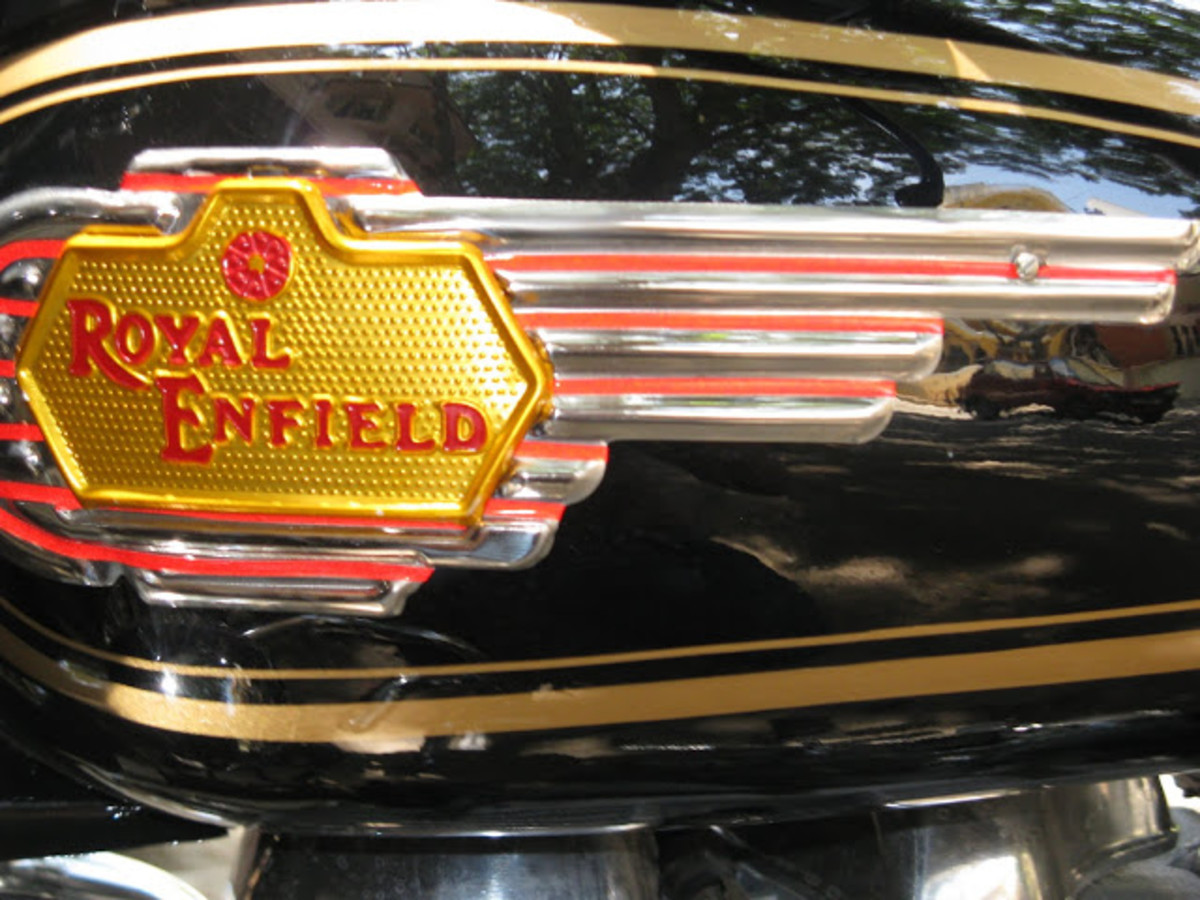 Royal Enfield 350 STD Logo