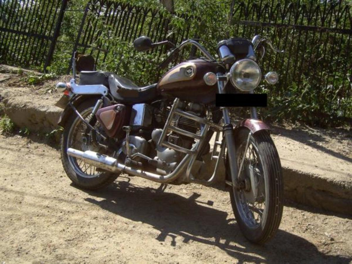 Pic of Royal Enfield Lightning 535 CC