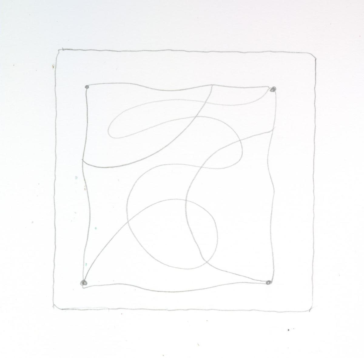 Zentangle string.