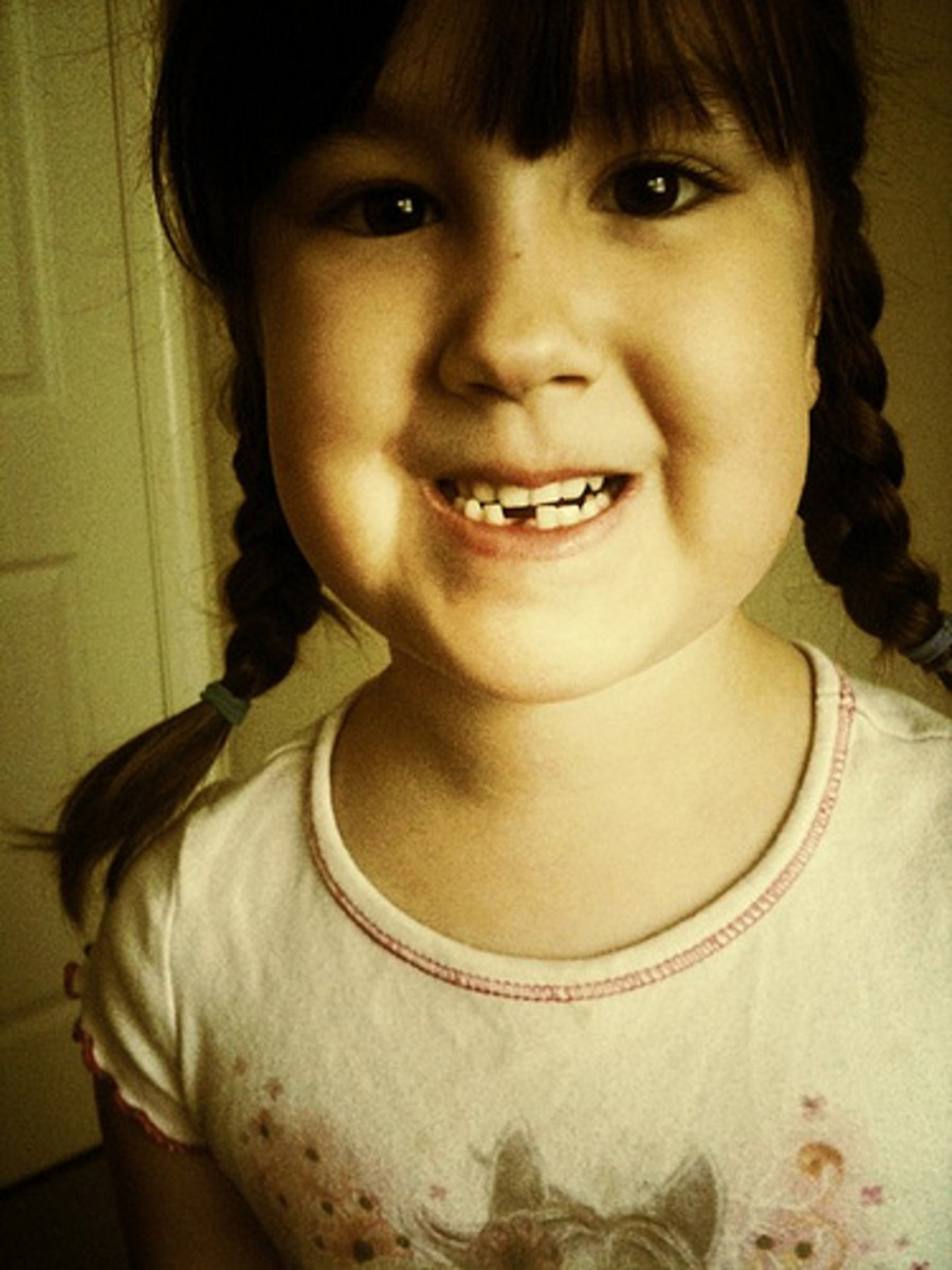 """Tooth Fairy is coming tonight"""