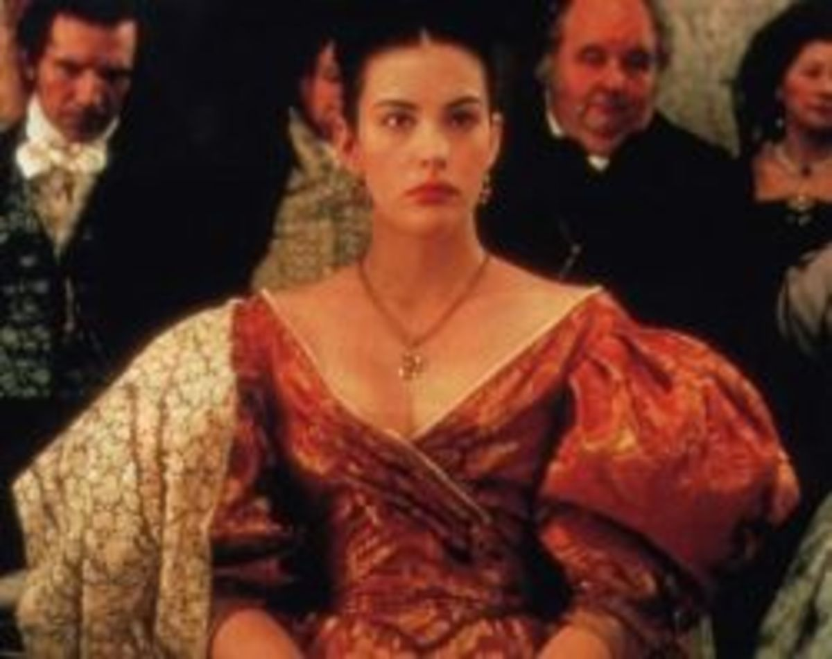 Liv Tyler as Tanya from Onegin