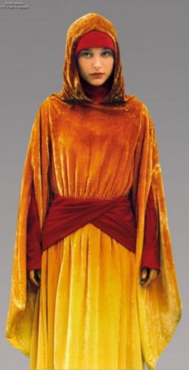 Natalie Portman as  Padme from Star Wars Episode I