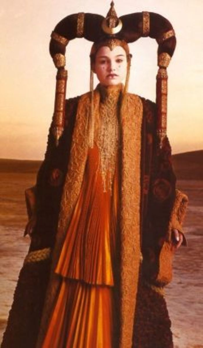 Natalie Portman as Queen Amidala from Star Wars Episode I