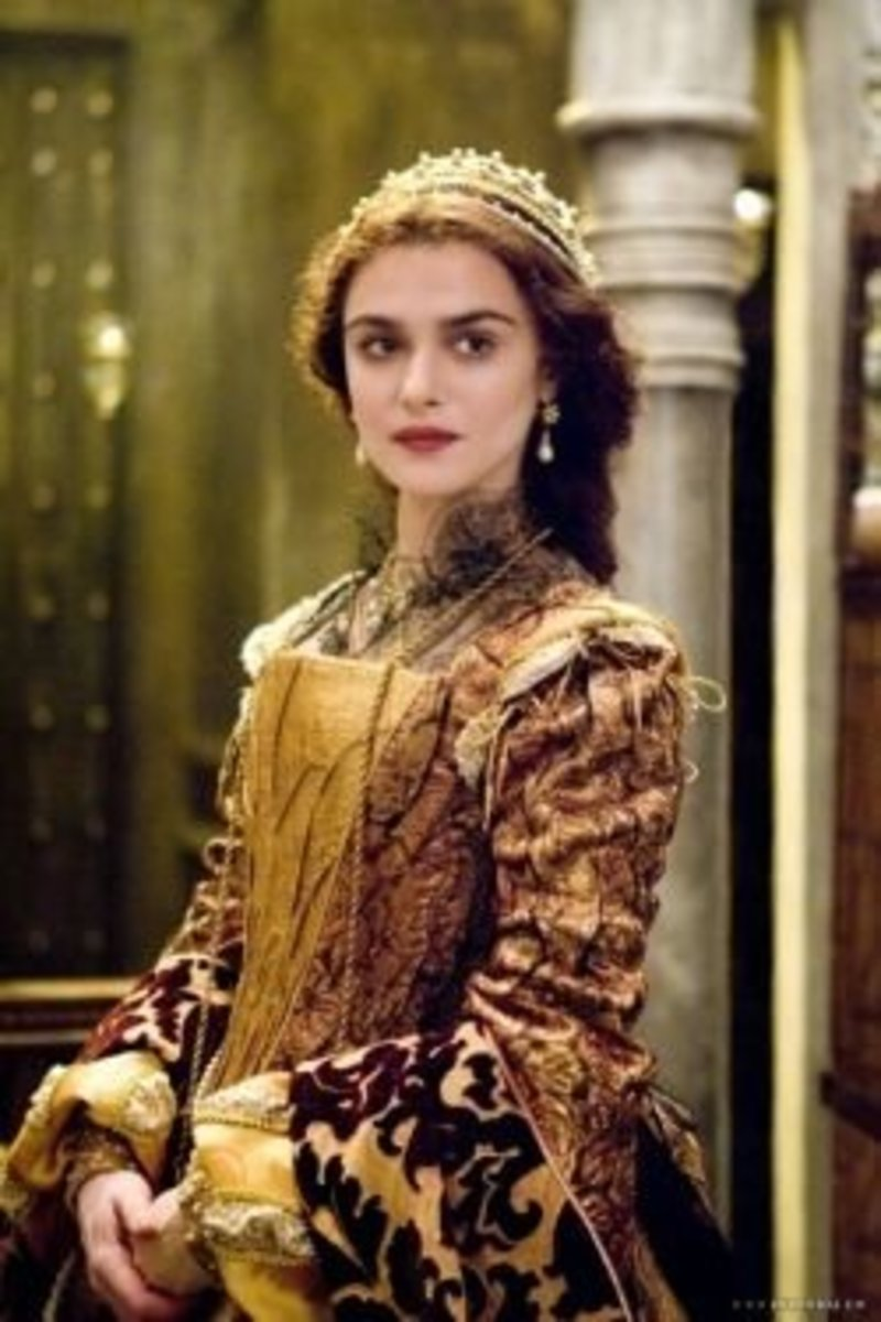 Rachel Weisz as Queen Isabel from The Fountain