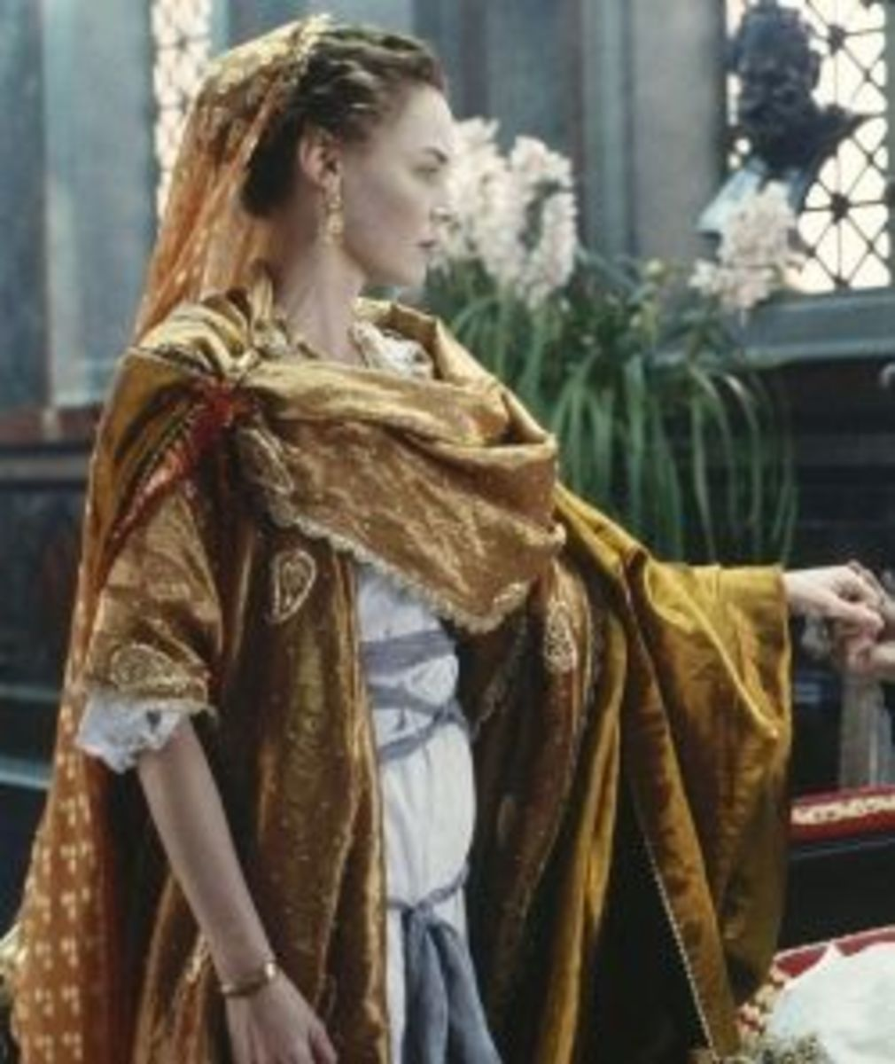 Connie Nielsen as Lucilla from Gladiator
