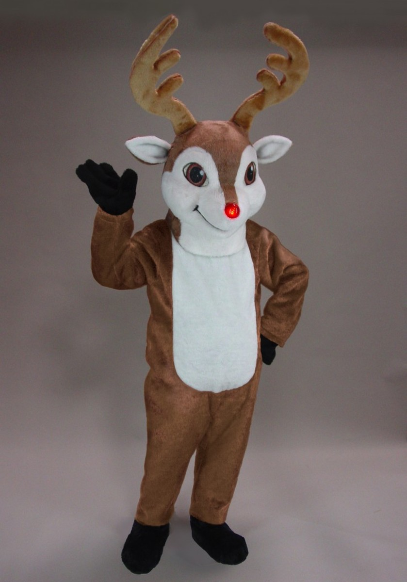 Rudolph And Other Reindeer Costume Ideas Hubpages