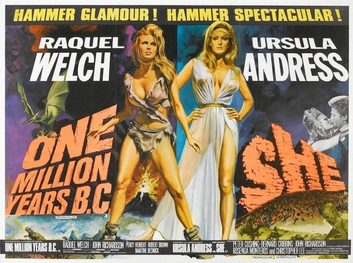One Million Years B.C. (1966) / She (1965)