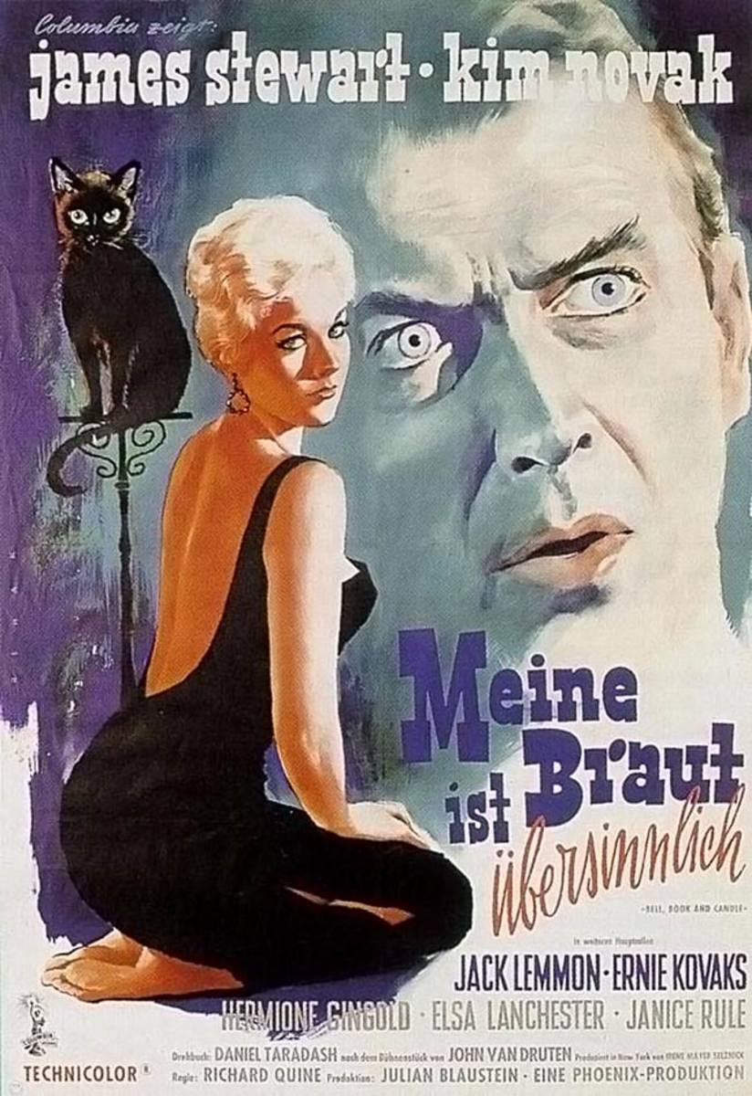 Bell Book and Candle (1958) German poster