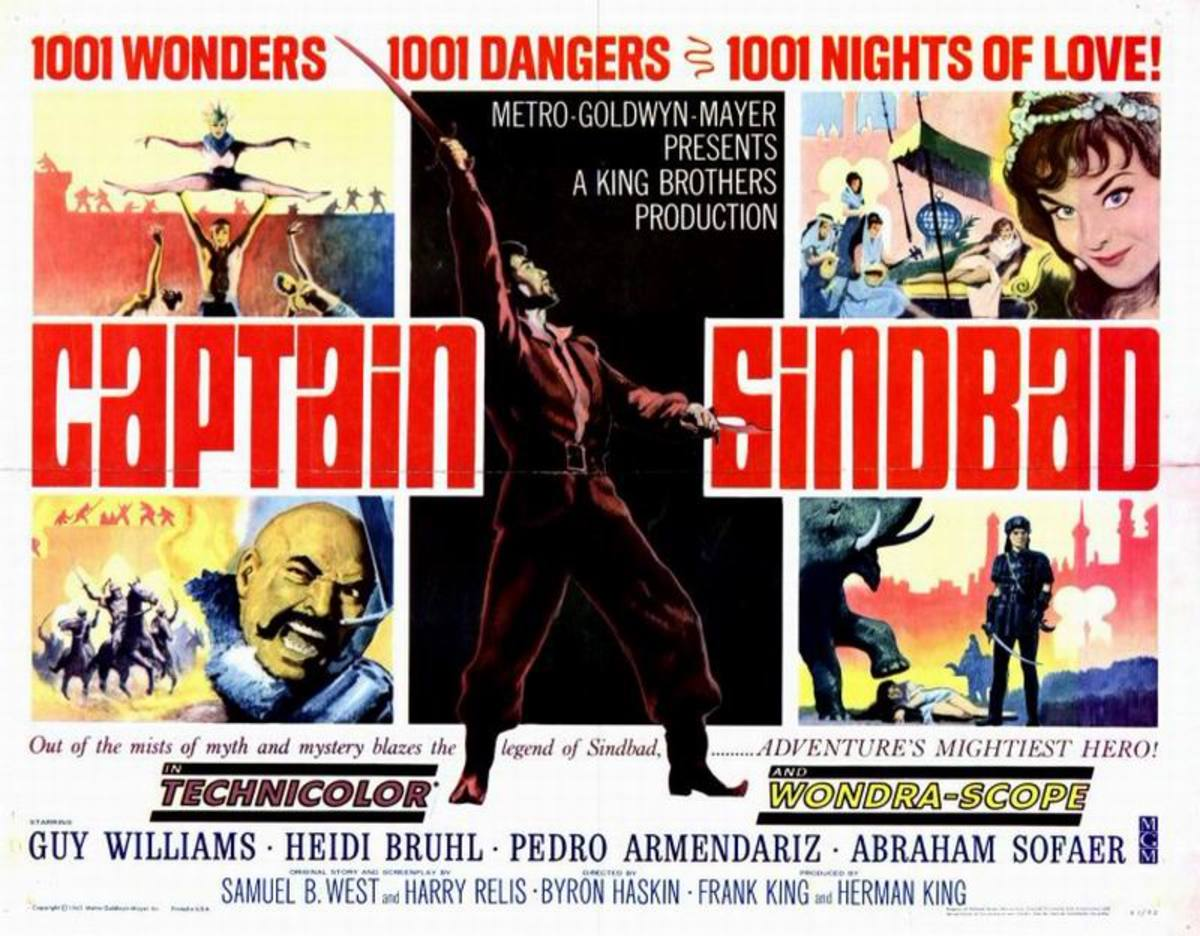 Captain Sinbad (1963)