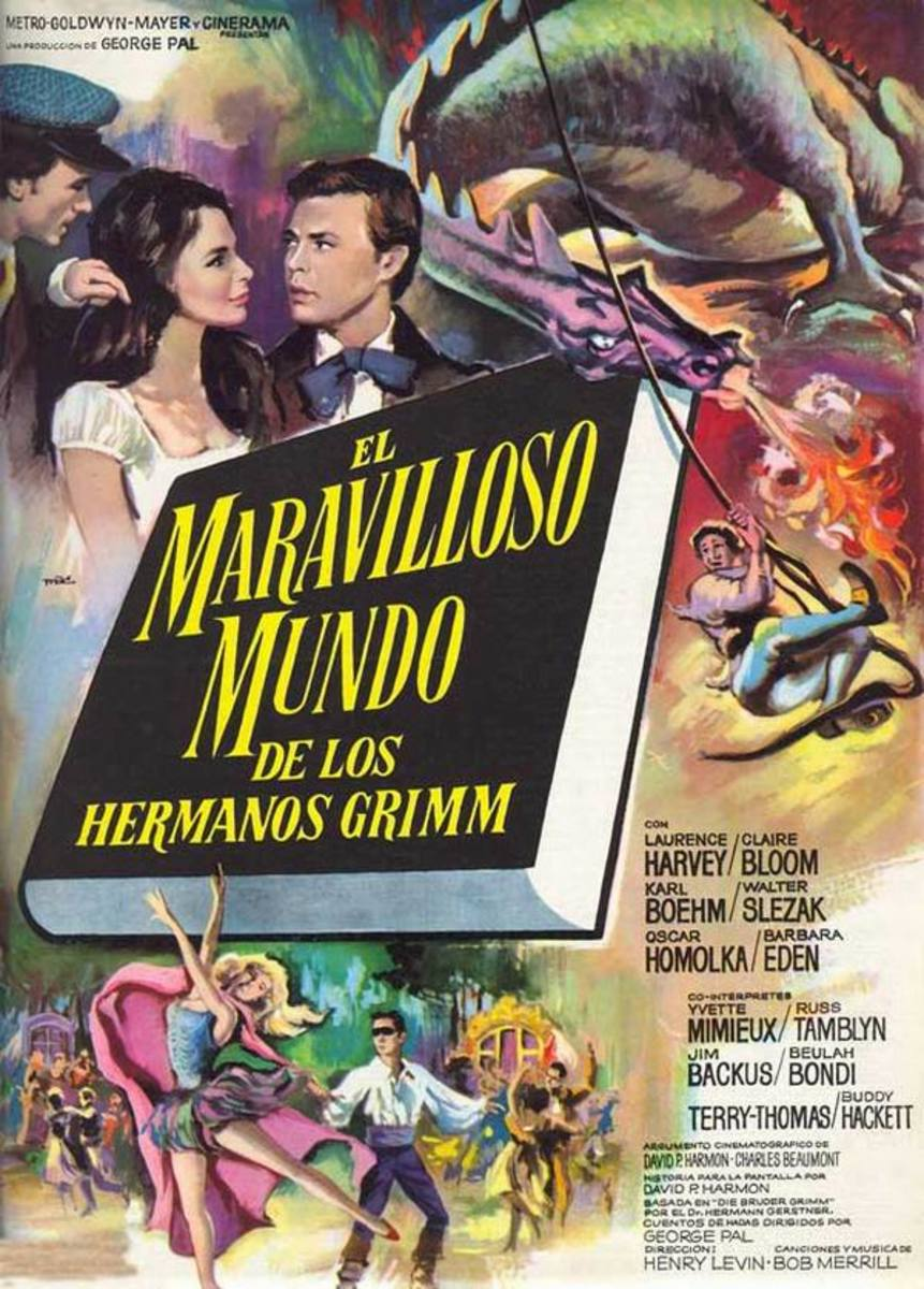 The Wonderful World of the Brothers Grimm (1962) Spanish poster
