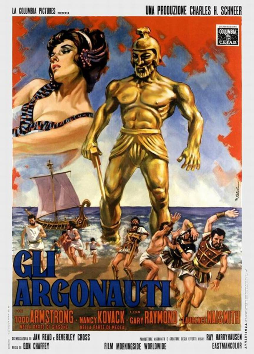 Jason and the Argonauts (1963) Italian poster