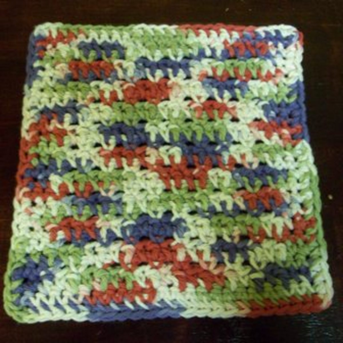 Crochet Cotton Dish Cloth