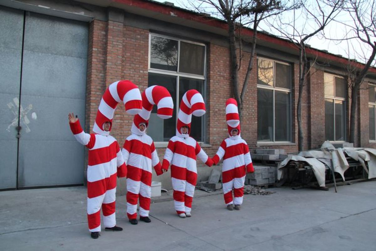 Candy Cane Costume Ideas