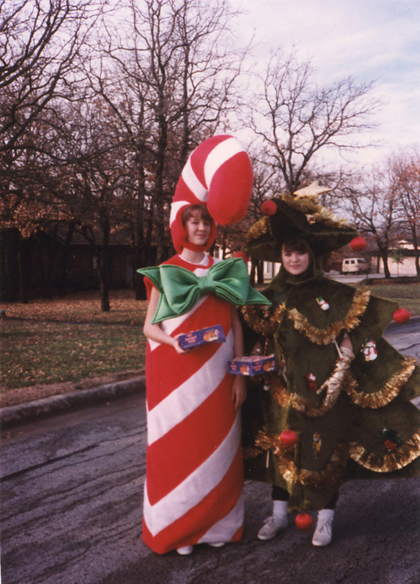Candy cane costume ideas hubpages mascot candy cane costume for ladies solutioingenieria Images