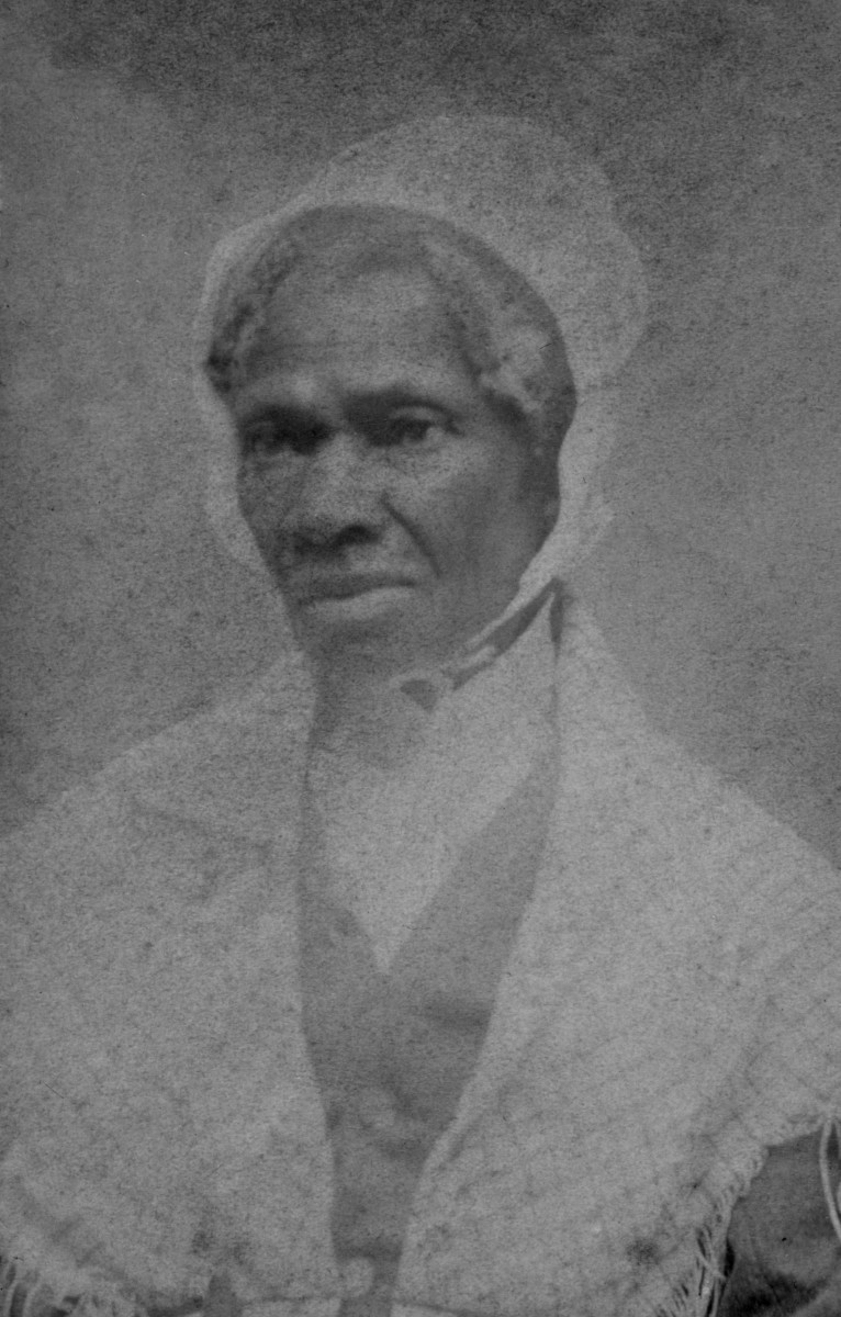 Photograph of Sojourner Truth taken c. 1864.