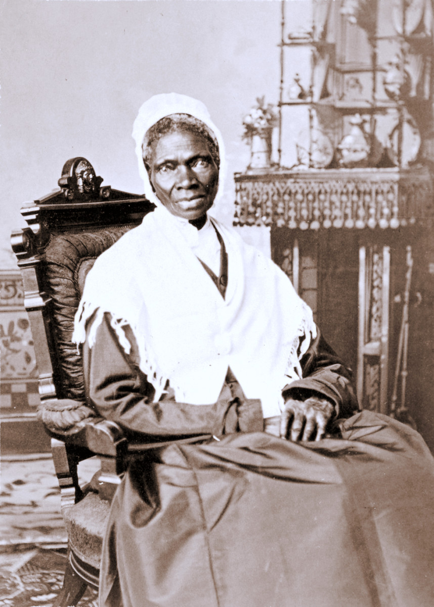 Last photo taken of Sojourner Truth before she died.