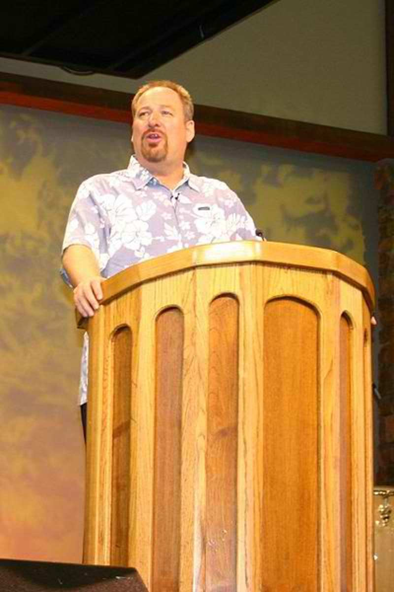 Pastor Warren's book sales have done  so well that in 2005 he returned his 25 years of salary to the Church and now lives on 10% of his income, giving away 90%.  http://en.wikipedia.org/wiki/Rick_Warren