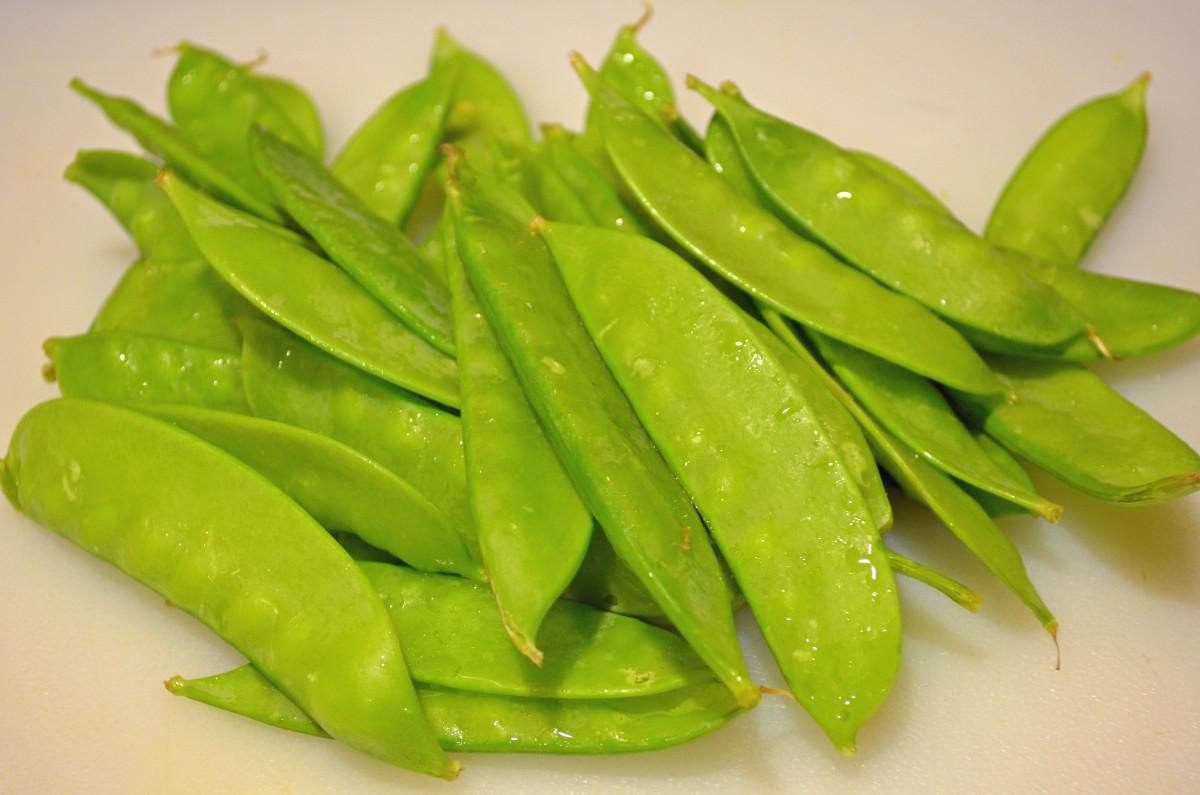 Pea pods or snow peas
