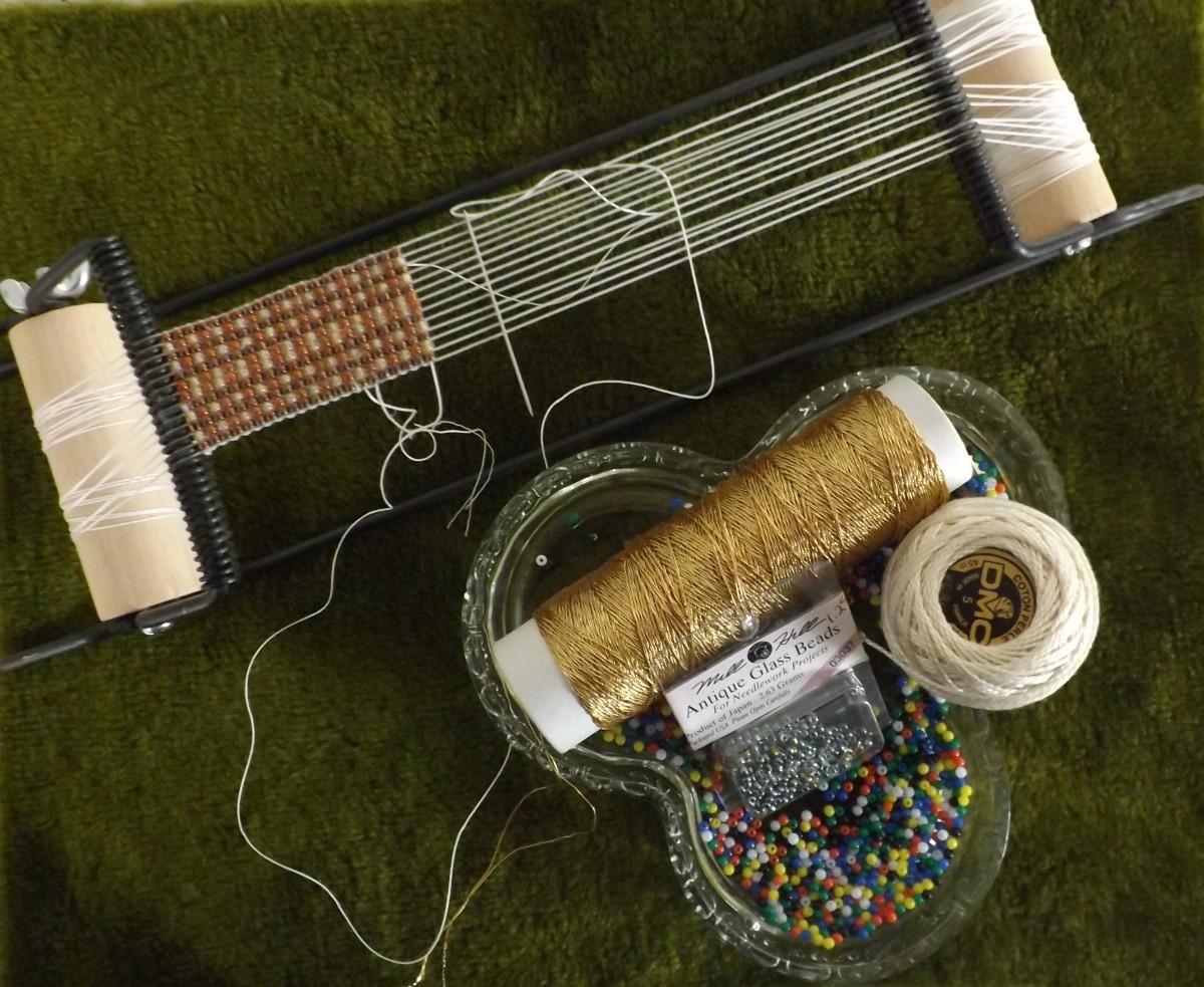 Bead Looming - Make a Matching Bead Belt, Bead Ring & Bead Bracelet