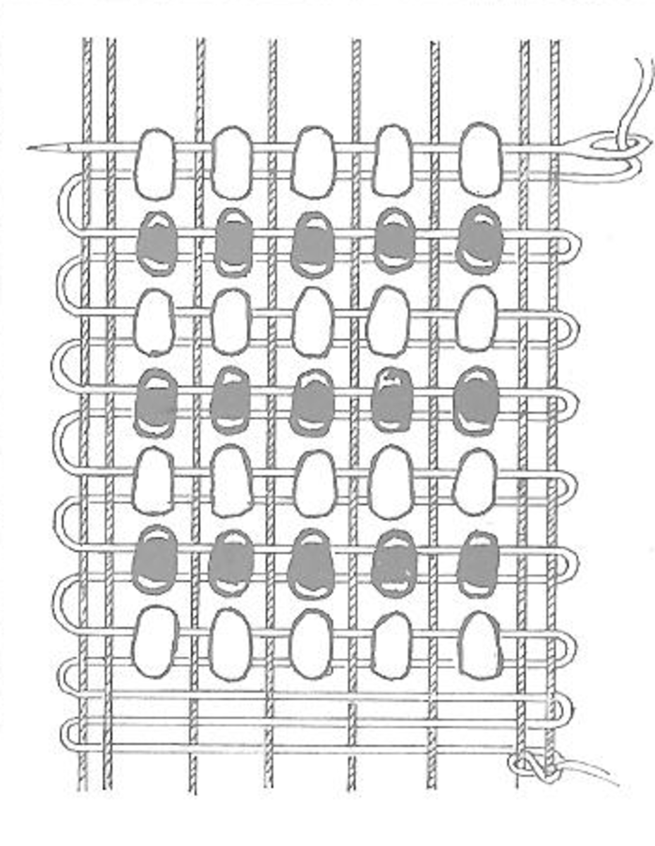 How to Weave Beads