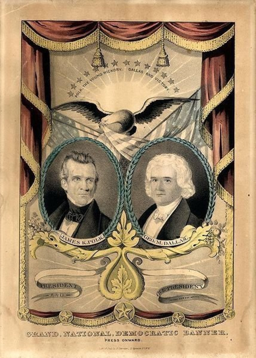 """an analysis of young hickory and dark horse by james polk Polk dobson of a cane made of hickory wood  james k polk was brought forward as a """"dark horse  of james k polk a discussion and analysis of."""