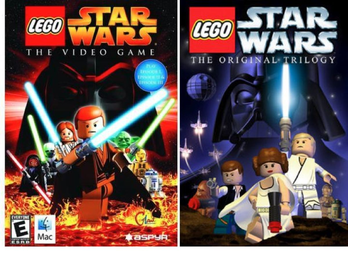 LEGO Star Wars: The Video Game / LEGO Star Wars: The original Trilogy