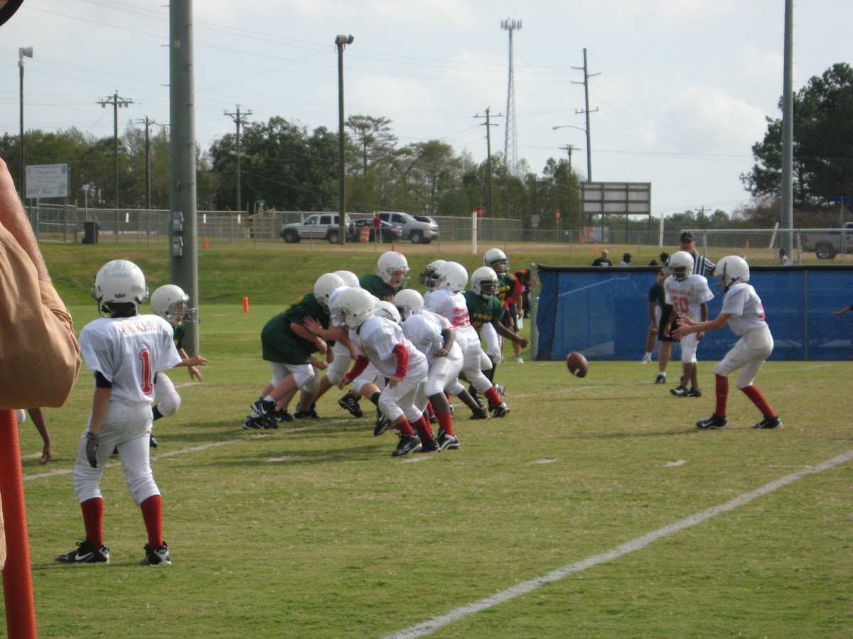 Tackle Football For Kids