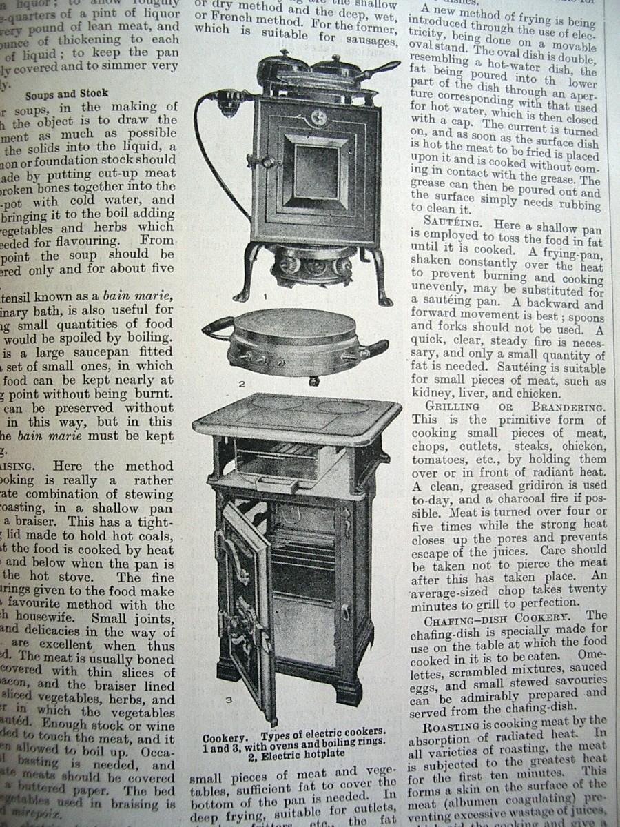 A 'modern' stove.