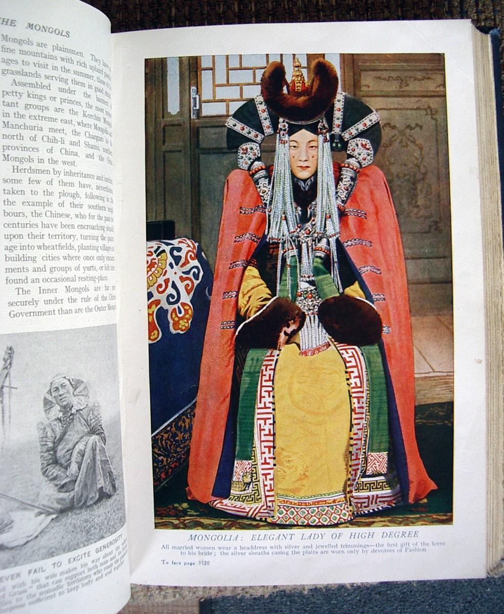 Mongolia:  Elegant Lady of High Degree