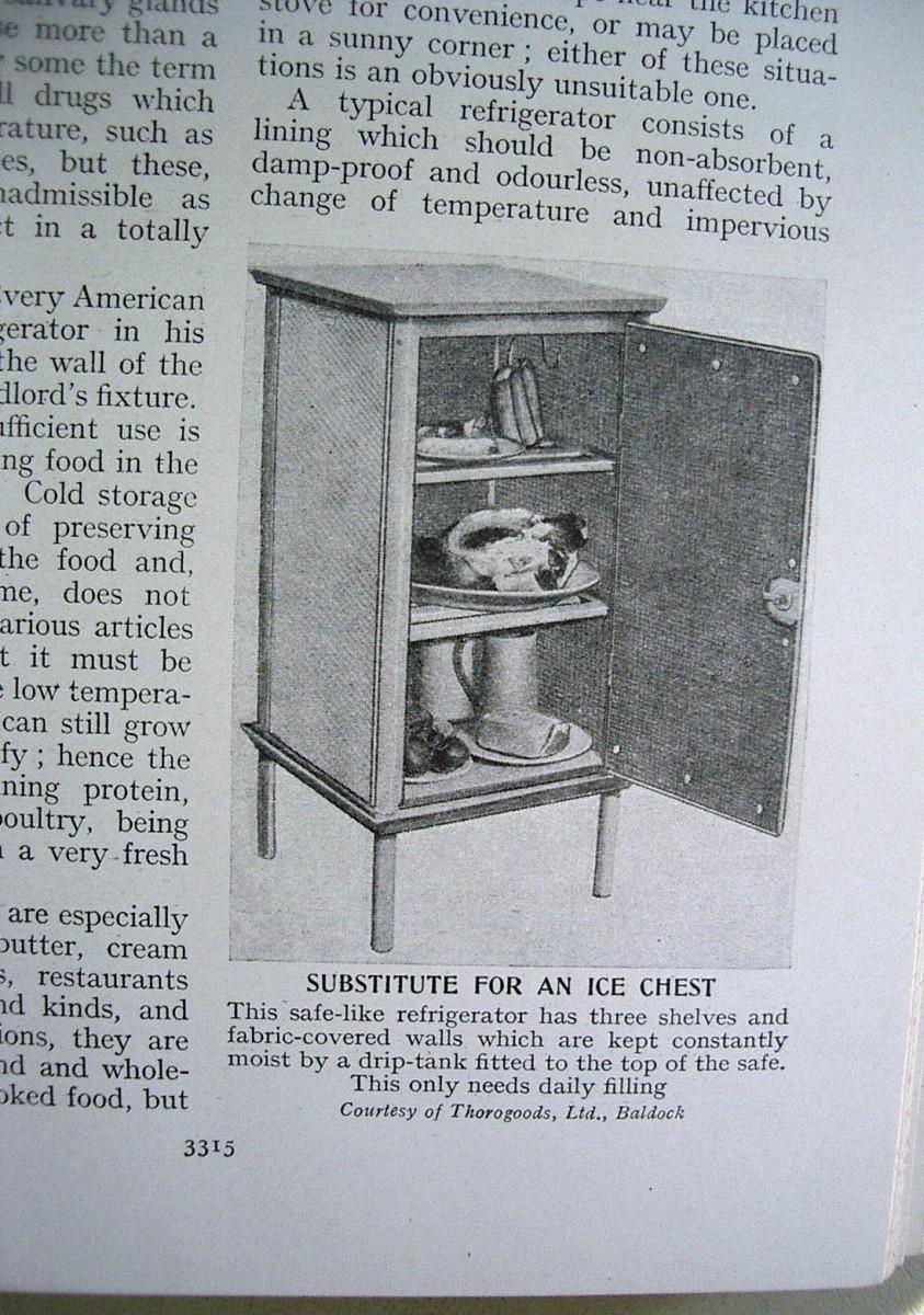 A 'modern' refrigerator?