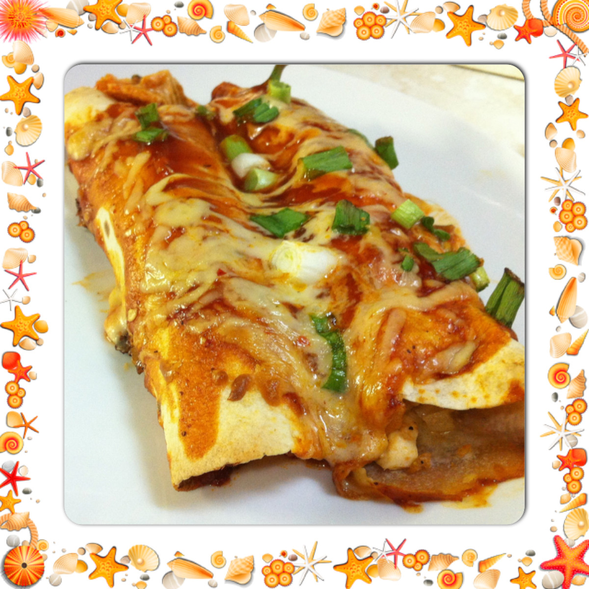 Chicken Enchiladas *My Way*