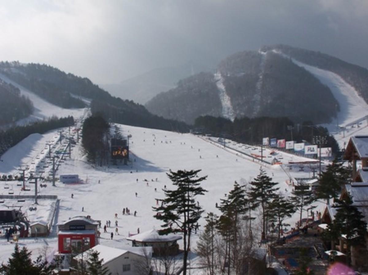 Dragon Valley Ski Resort - City in South Korea