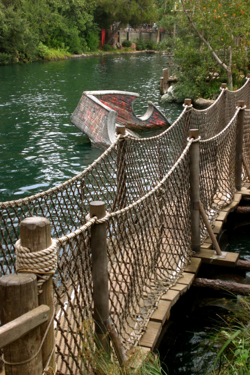 Review of Pirate's Lair on Tom Sawyer Island at Disneyland