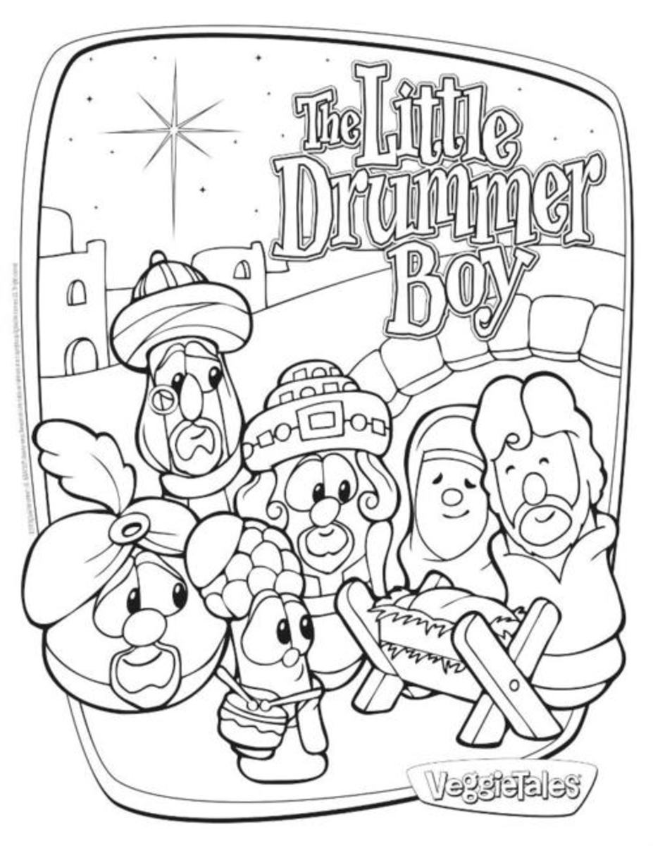 printable little drummer boy