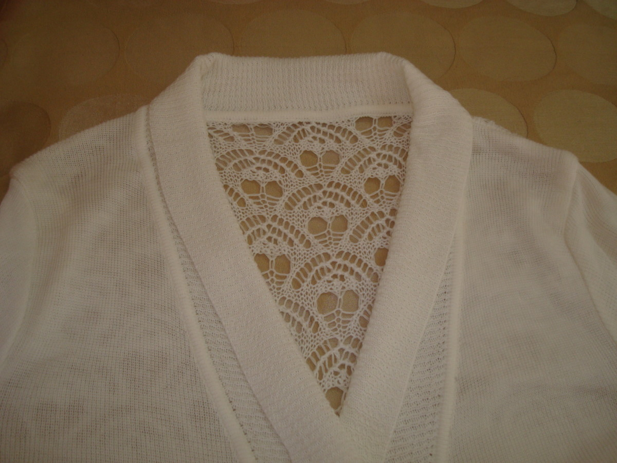 SHAWL COLLAR