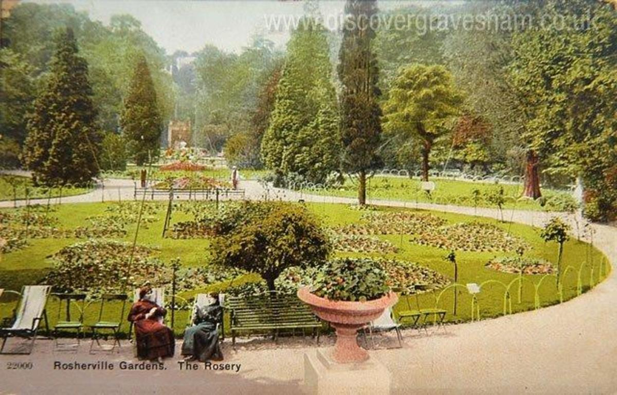 Rosherville  Victorian Pleasure Gardens 1837 And The